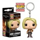 Annie Leonhart Attack on Titan Pocket POP! Vinyl Keychain